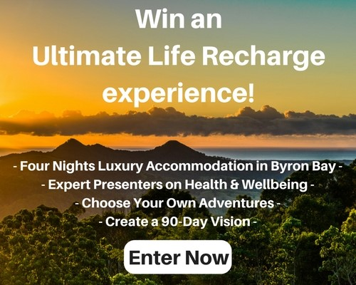 Win an Ultimate Life Recharge holiday in Byron Bay!